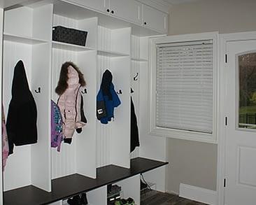 Custom Mudroom closets, NY