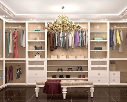Custom dressing room closets NY