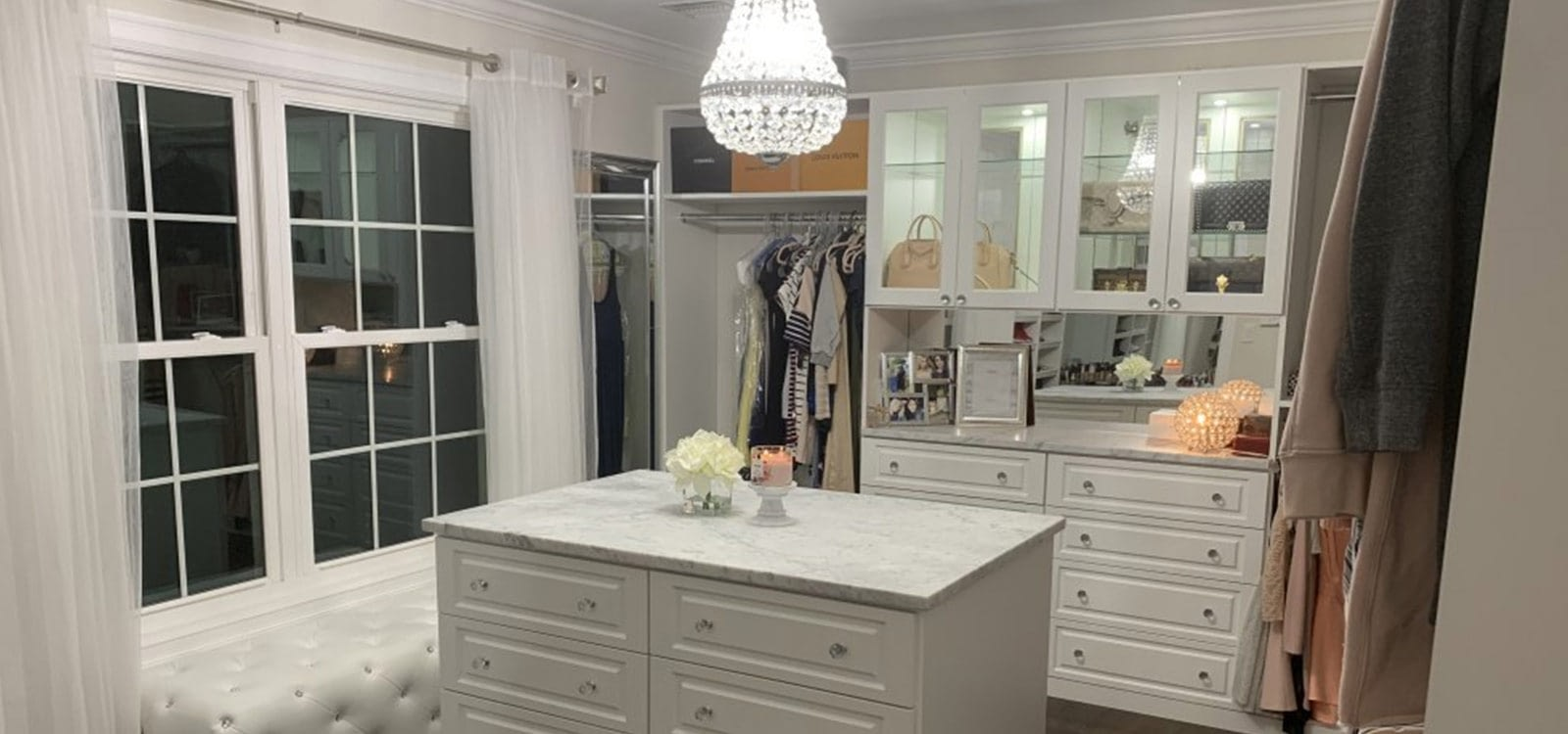We offer Custom Closets and Storage Solutions in Long Island & New York